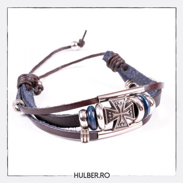 bratara-piele-lemn-metal-glisare-cruce-1