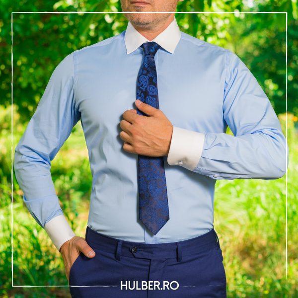 camasa-barbati-bleu-guler-mansete-albe-1