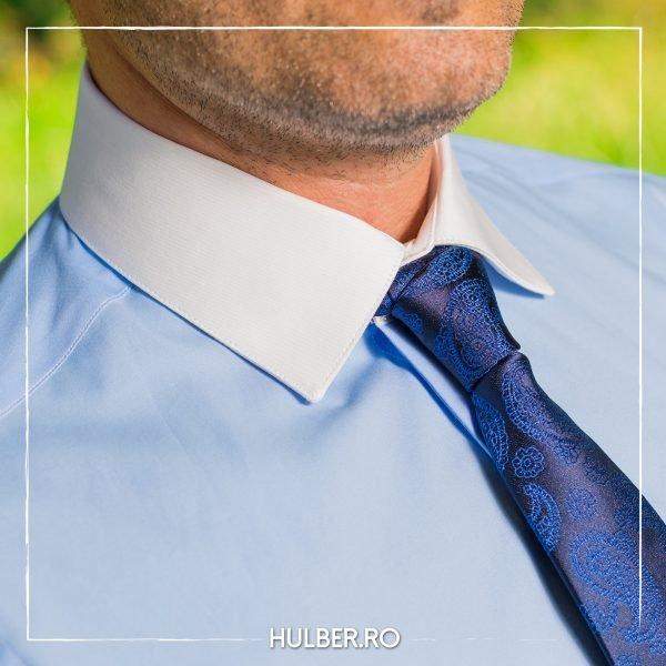camasa-barbati-bleu-guler-mansete-albe-2