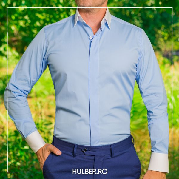 camasa-barbati-bleu-guler-mansete-albe-casual-1