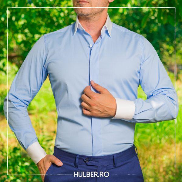 camasa-barbati-bleu-guler-mansete-albe-casual-3