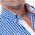 camasa-barbati-carouri-albastre-cu-portocaliu-2