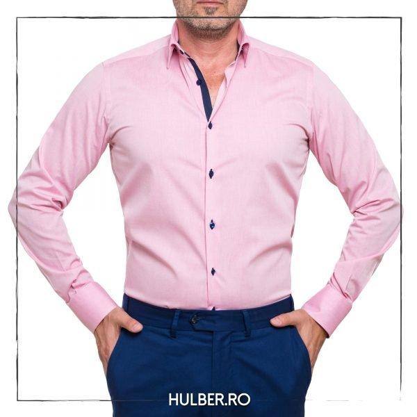 camasa-barbati-carouri-roz-somon