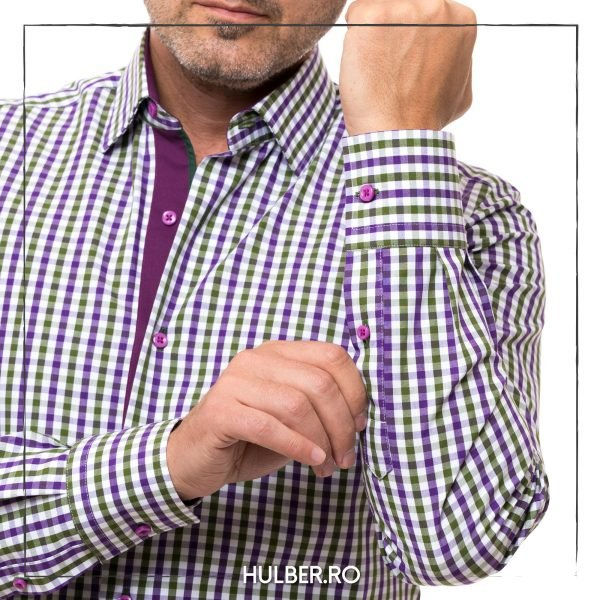 camasa-barbati-carouri-verde-violet-fenta-1