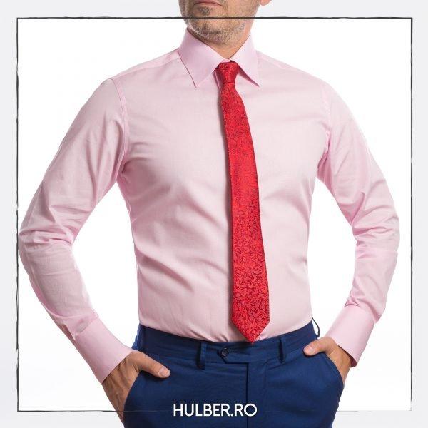 camasa-casual-roz-manseta