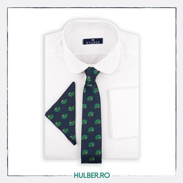 cravata-bleumarin-model-verde