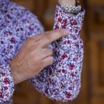 camasa flori manseta