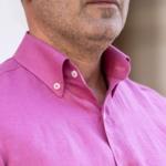 camasa in roz guler si nasturi